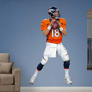 Peyton Manning - Home Fathead Wall Decal